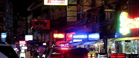 Soi Buakhoa at Night in Pattaya