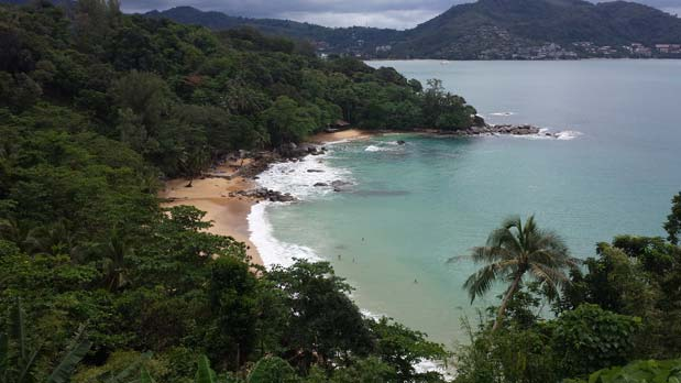 Beautiful Beach Near Patong - Low Season in Thailand