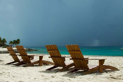 beach-chairs---Thailan's-Low-Season