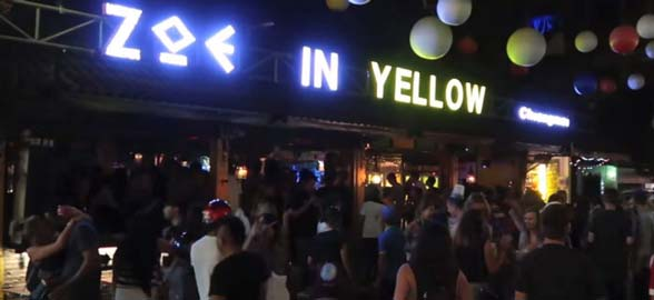 Zoe in Yellow - Chiang Mai Night Club