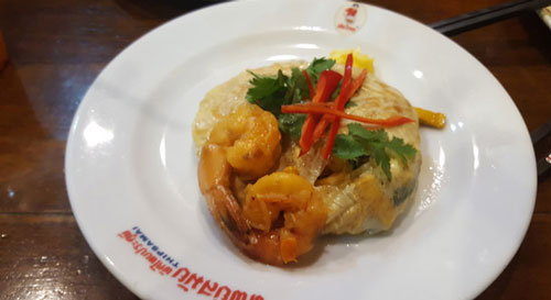 Pad Thai Restaurant in Bangkok