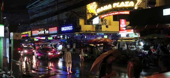 Sukhumvit Road in Bangkok Thailand
