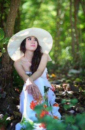 Beautiful Thai Lady