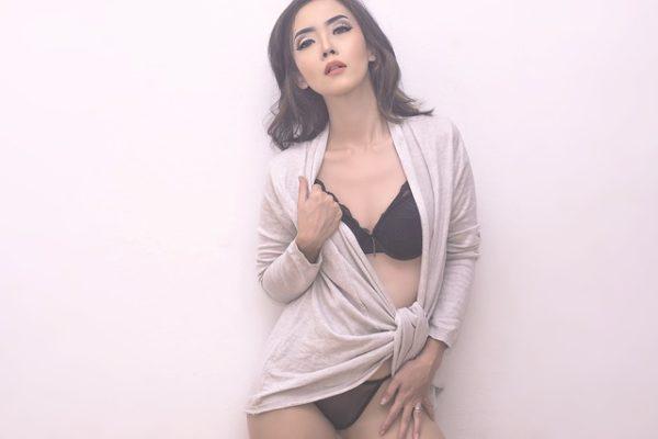 Beautiful Asian Girl Posing
