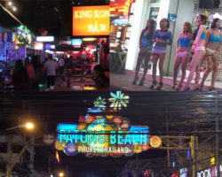 Showing Various cities in Thailand, including bars and nightlife
