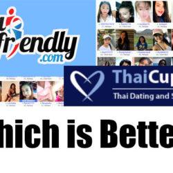 Thai Friendly and Thai Cupid Logos